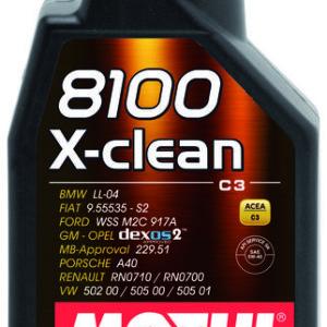 1L_8100_X-clean_5W40 motul xclean 5w40 olio motore sintetico mondotuning mtelaborazioni