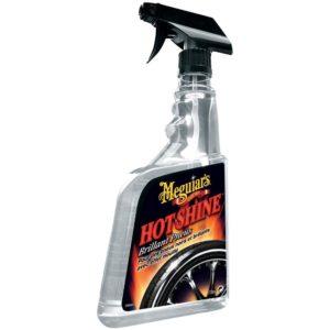 Hot Shine Tire Spray - Lucida gomme con spruzzatore G12024EU meguiars mondotuning mtelaborazioni