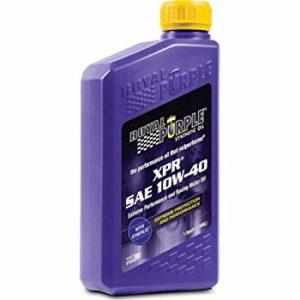 olio motore royal purple xpr 10w40 ad altissime prestazioni