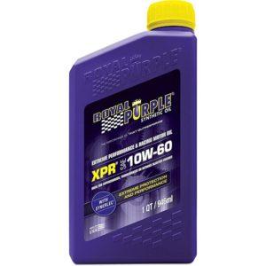olio motore royal purple xpr 10w60 per motori ad alte prestazioni