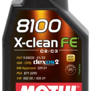 8100_X-CLEAN_FE_5W30_1L motul x-clean xclean olio motore motor sintetico dexos2 mondotuning mtelaborazioni
