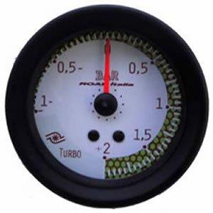 Manometro Pressione Turbo Analogico a Diffusione 52mm – Vari Colori