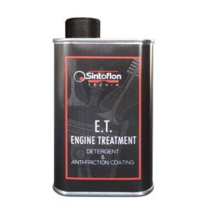 e.t. sintoflon engine treatment pulitore olio motore anti attrito trattamento motore detergente mondotuning mtelaborazioni