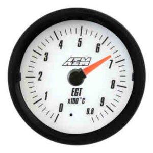 Manometro Temperatura Gas di Scarico Analogico - AEM - 52mm