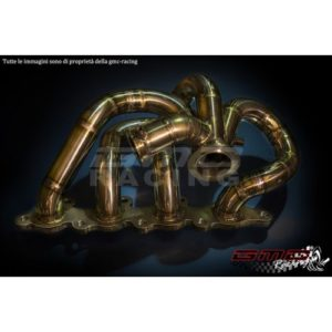 Collettore Acciaio Inox con Wastegate Esterna - Ford Focus RS Mk1 - GMC Racing