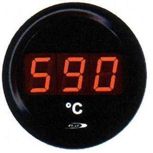Manometro Temperatura Gas di Scarico Digitale - Road Italia - 52mm