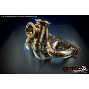 Collettore Acciaio Inox con WG Esterna - Ford Escort Cosworth - GMC Racing