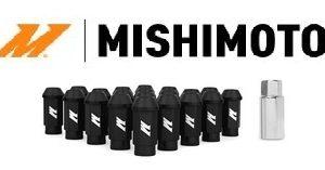Kit 20 Lug Nuts Neri Mishimoto con Antifurto - M12x1,25/1.5