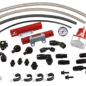 Fuel Rail Kit + Regolatore Pressione Aeromotive per Subaru Impreza 2.0 WRX - 14135
