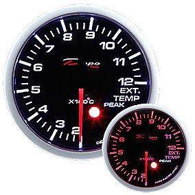Manometro Temperatura Gas di Scarico Analogico - Depo Racing - 52mm