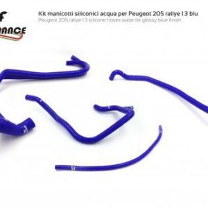 Kit Manicotti Silicone Acqua - Peugeot 205 1.3 RALLYE - TBF Performance