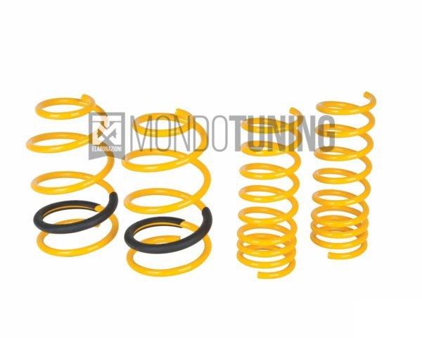 Kit Molle Sport f 28240050 4 spring ribassate st suspension grande punto abarth evo mondotuning mtelaborazioni gialle