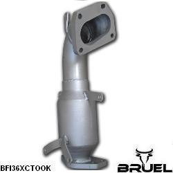BFI36XCT00K_1 catalizzatore 200 celle metallico bruel motorsport grande punto abarth evo mondotuning mtelaborazioni turbina turbo ihi