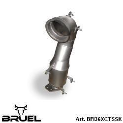 BFI36XCTSSK catalizzatore 200 celle metallico bruel motorsport turbo turbina garrett 1446 gt1446 grande punto abarth evo mondotuning mtelaborazioni