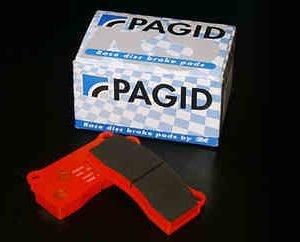 kit serie pastiglie posteriori pagid paste post punto abarth paghid arancio arancioni rs44 punto abarth grande evo mondotuning mtelaborazioni