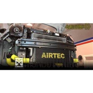 ATINTFT1 intercooler maggiorato frontale airtec airtech 500 595 695 abarth manicotti silicone siliconici tubazioni alluminio girotubi mondotuning mtelaborazioni