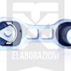 PFF16-521 supporto motore anteriore ant piccolo 500 595 695 abarth powerflex classic line mondotuning mtelaborazioni