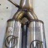 terminale finale posteriore diretto solo tubo powermotive artigianale acciaio inox terminalini 2 non silenziato mondotuning mtelaborazioni
