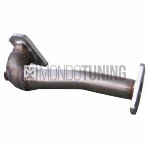 AF500 downpipe skat scatalizzato tubo sostituzione catalizzatore inoxcar acciaio inox 500 595 695 abarth turbo turbina ihi mondotuning mtelaborazioni