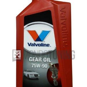 valvoline gear oil 75w90 sintetico cambio trasmissione manuale differenziale mondotuning mtelaborazioni 867064 Olio trasmissione Valvoline Gear Oil 75w90 100% sintetico - Specifiche API GL-3, GL-4, GL-4+