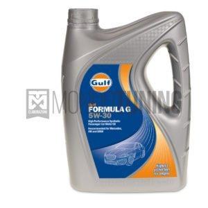 olio motore sintetico gulf formula g 5w30 mondotuning mtelaborazioni API SL, BMW Longlife LL-98, VW Standard 502.00 / 505.00, MB 229.3