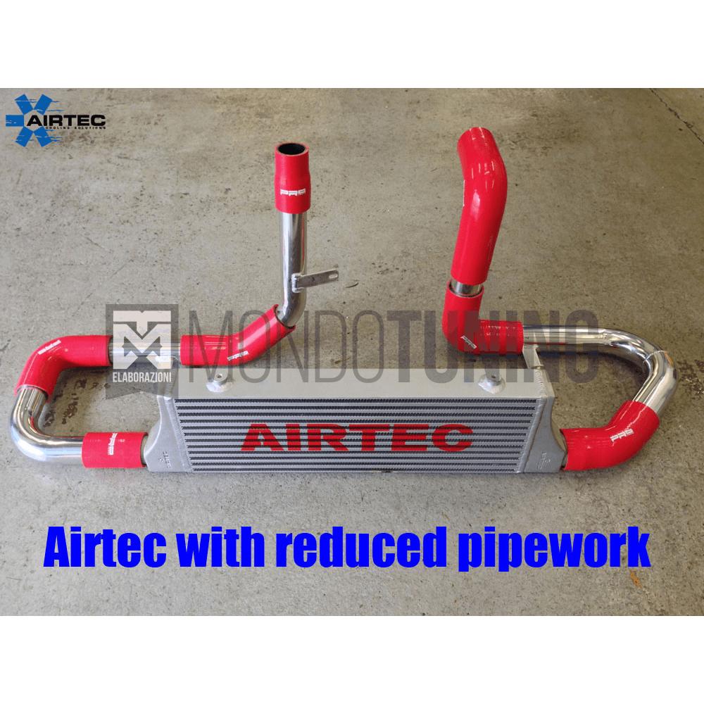 cercare per tutta la famiglia autentico Intercooler Maggiorato Frontale - 500 Abarth - Airtec