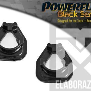 PFF16-521BLK supporto motore anteriore piccolo inferiore 500 595 695 abarth powerflex bs black series mondotuning mtelaborazioni