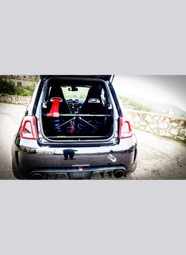 kit-barra-duomi-con-tiranti-dna-racing pc0945 barra posteriore bagagliaio biposto competizione 500 595 695 abarth mondotuning mtelaborazioni