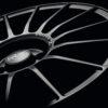 cerchi lega oz racing superturismo lm super turismo 7.5×17 canale 7.5 diametro 17 pollici grande punto abarth evo mondotuning mtelaborazioni matt black graphite silver lettering
