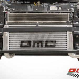 intercooler ic maggiorato frontale gmc racing 500 595 695 abarth alluminio girotubi giro tubi silicone artigianale monster orra tbf performance mondotuning mtelaborazioni scara