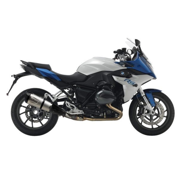 14137S BMW R1200RS R1200 RS R 1200 RS terminale scarico finale leovince leo vince factory s stainless steel acciaio inossidabile moto mondotuning mtelaborazioni