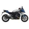 14138S BMW R1200RS R1200 RS R 1200 RS terminale scarico finale leovince leo vince vinci factory s carbon fiber fibra carbonio moto mondotuning mtelaborazioni