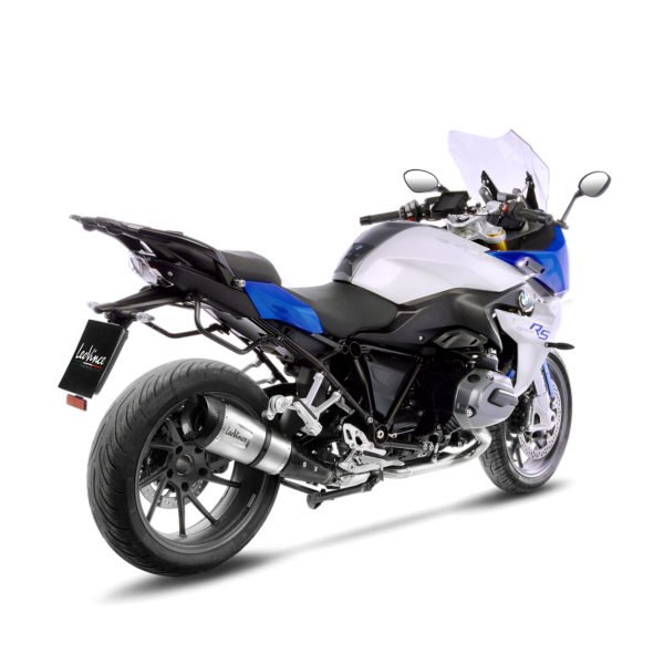 14274S BMW R1200RS R1200 RS R 1200 RS terminale scarico finale leovince leo vince factory s stainless steel acciaio inossidabile moto mondotuning mtelaborazioni