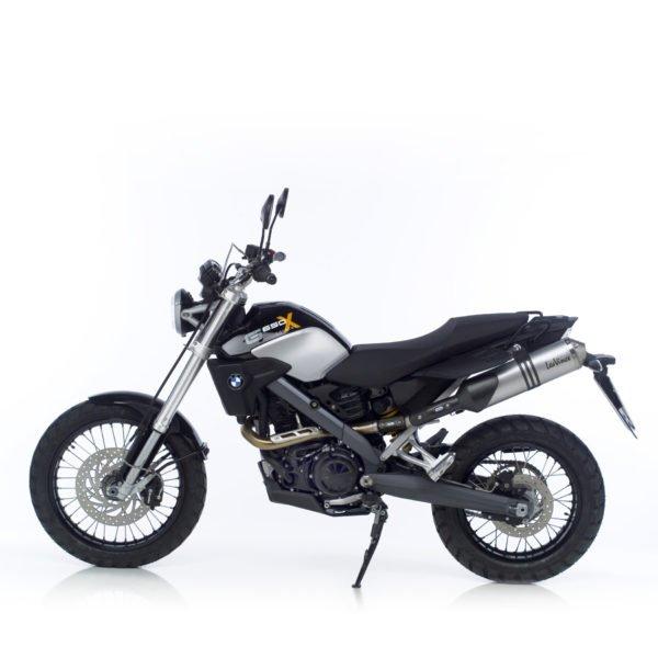 3606 3606 G 650 g650 x-country X-CHALLENGE terminale scarico finale leovince leo vince vinci x3 alluminium alluminio offroad road moto mondotuning mtelaborazioni