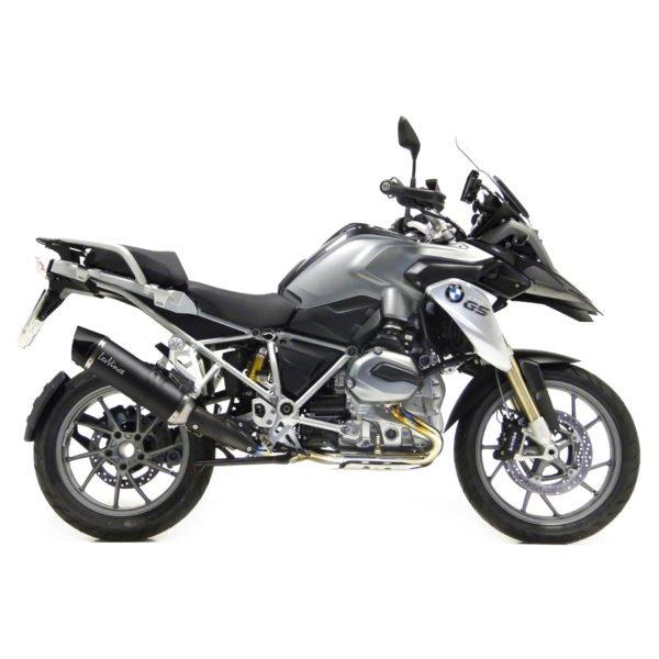 8787E BMW R1200GS R 1200 GS R1200 terminale scarico finale leovince leo vince vinci lv one evo carbon fiber fibra carbonio mondotuning mtelaborazioni moto