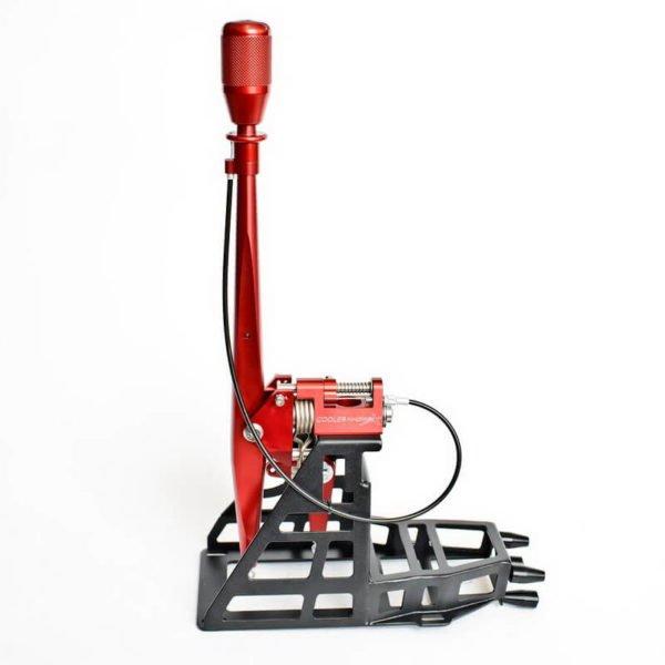 leva cambio accorciata castelletto short shifter scifter mini cooper s coopers f55 f56 f57 f56s f55s mondotuning mtelaborazioni 6 marce manuale cae coolerworx cooler worx mini-f56-pro-short-shifter-coolerworx-red
