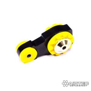 ATMSFO82 supporto motore lato cambio inferiore rinforzato maggiorato powerflex serie gialla viola nera boccola ford fiesta mk8 st st200 200 poliuretano airtec mondotuning mtelaborazioni