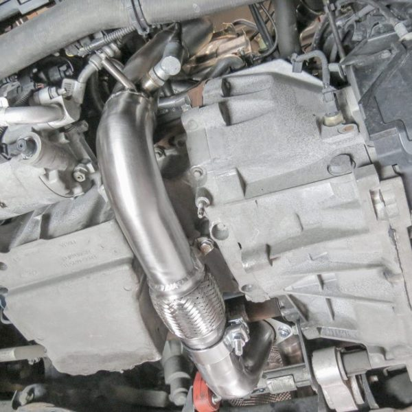 ASEXHCOB15 fd65 downpipe catalizzato 200 celle catalizzatore sportivo maggiorato ford fiesta mk7 1.0 ecoboost eco boost cobra sport mondotuning mtelaborazioni