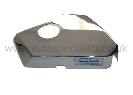 ASCOVFO54 header tank cover vaschetta serbatoio acqua liquido radiatore acciaio inox alluminio ford fiesta mk7 st180 st200 ecoboost airtec autospecialist mondotuning mtelaborazioni