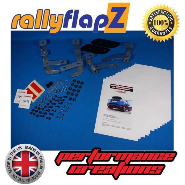 RFFST180 mud flap rally flap rallyflapz paraspruzzi para spruzzi ford fiesta mk7 st st180 st200 180 200 mondotuning mtelaborazioni